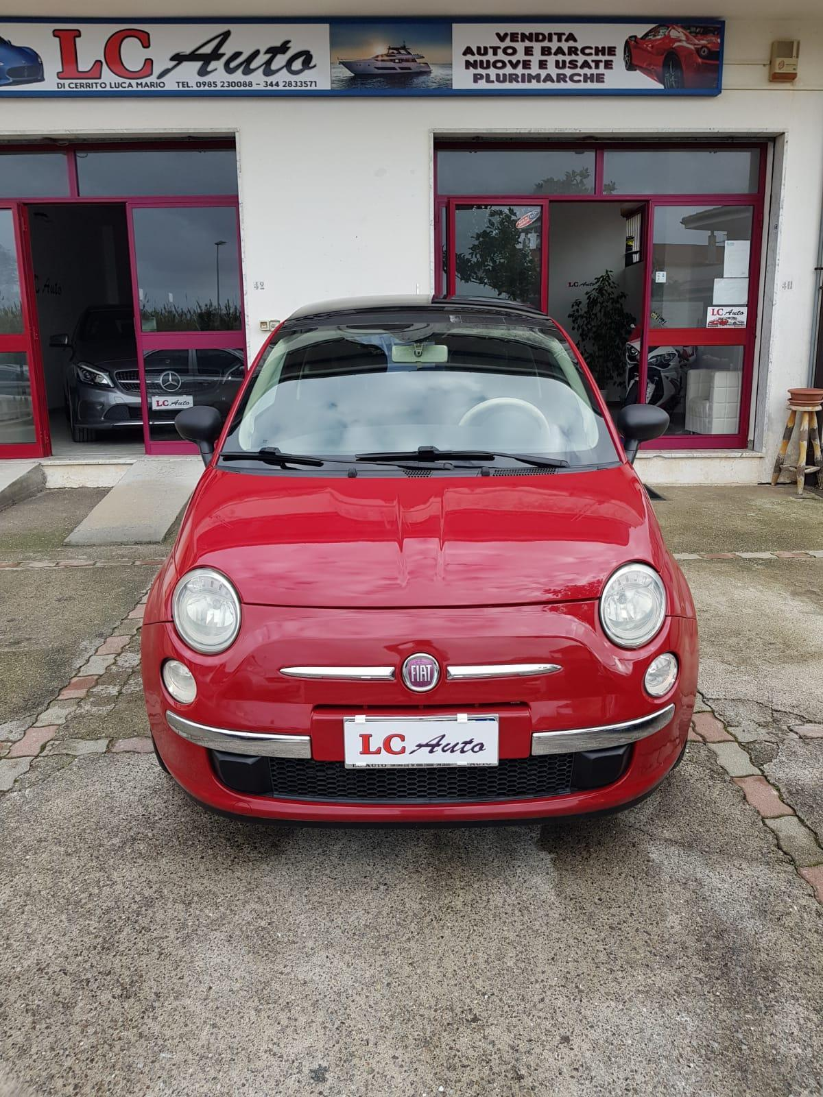 FIAT 500 1.2 BENZ LOUNGE